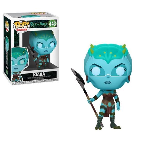 Picture of Rick y Morty POP! Animation Vinyl Figura Kiara 9 cm