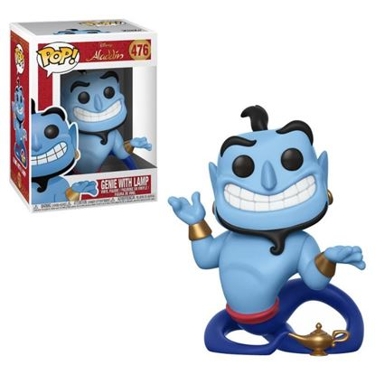 Picture of Aladdin POP! Vinyl Figura Genio con Lámpara 9 cm.