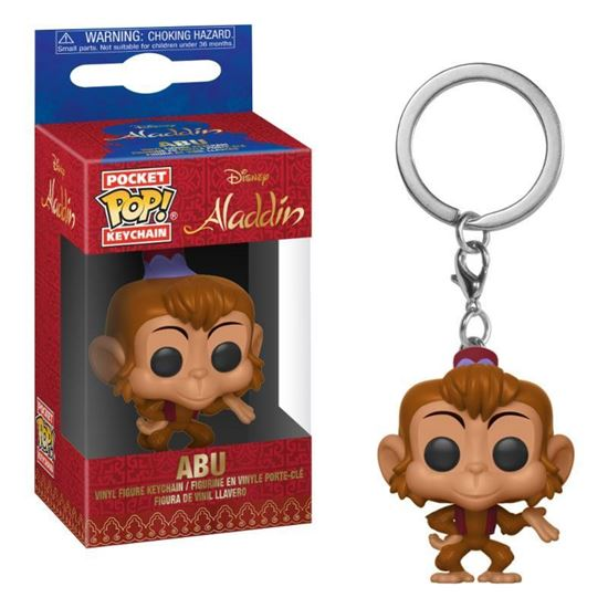 Picture of Aladdin Llavero Pocket POP! Vinyl Abú 4 cm