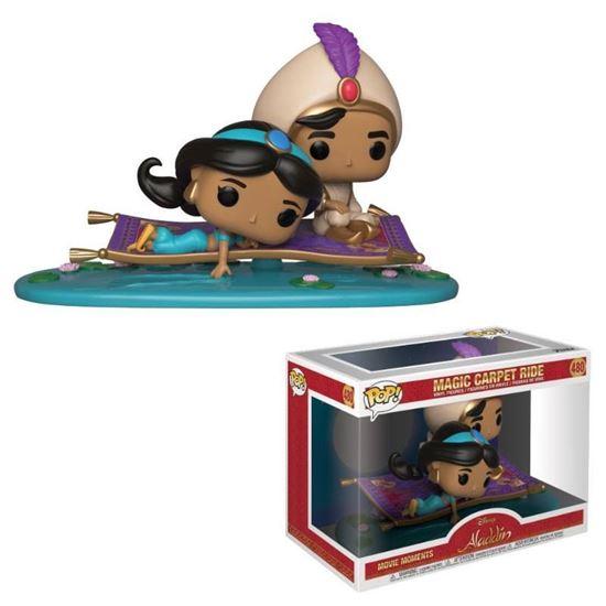 Picture of Aladdin POP! Movie Moments Vinyl Figuras Viaje en Alfombra Mágica 9 cm.