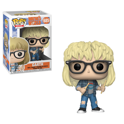 Picture of Wayne's World Figura POP! Movies Vinyl Garth 9 cm.