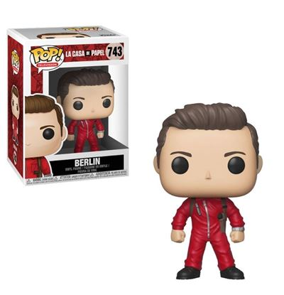 Picture of La casa de papel POP! TV Vinyl Figura Berlin 9 cm.
