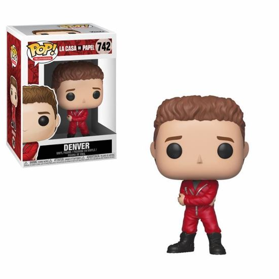Picture of La casa de papel POP! TV Vinyl Figura Denver 9 cm.