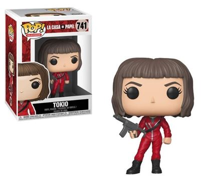 Picture of La casa de papel POP! TV Vinyl Figura Tokio 9 cm.