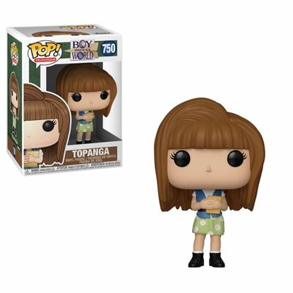 Picture of Yo y el mundo POP! TV Vinyl Figura Topanga 9 cm.