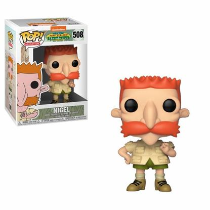 Picture of 90's Nickelodeon POP! Television Vinyl Figura Nigel (Los Thornberrys) 9 cm. DISPONIBLE APROX: MARZO 2019