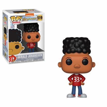 Picture of 90's Nickelodeon POP! Television Vinyl Figura Gerald (Hey Arnold!) 9 cm. DISPONIBLE APROX: MARZO 2019