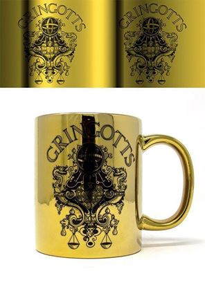 Picture of Taza Metalizada Gringotts - Harry Potter