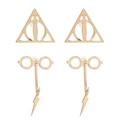 Picture of Set 2 Pares de Pendientes - Harry Potter