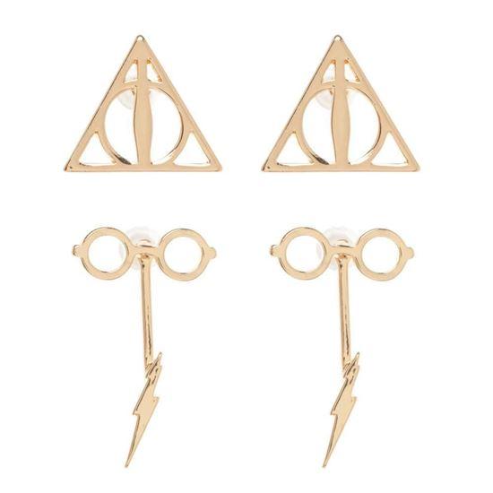 Picture of Set 2 Pares de Pendientes - Harry Potter