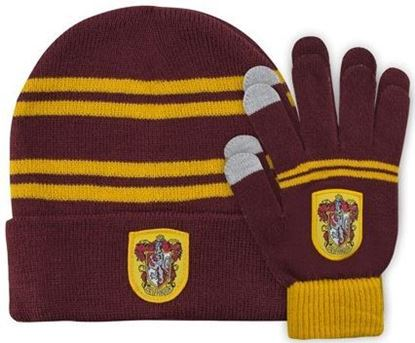 Picture of Set de Gorro y Guantes Táctiles Gryffindor - Harry Potter