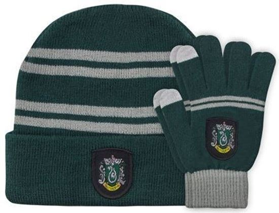 Picture of Set de Gorro y Guantes Táctiles Slytherin - Harry Potter