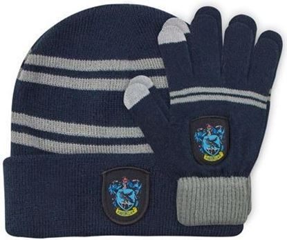 Picture of Set de Gorro y Guantes Táctiles Ravenclaw - Harry Potter