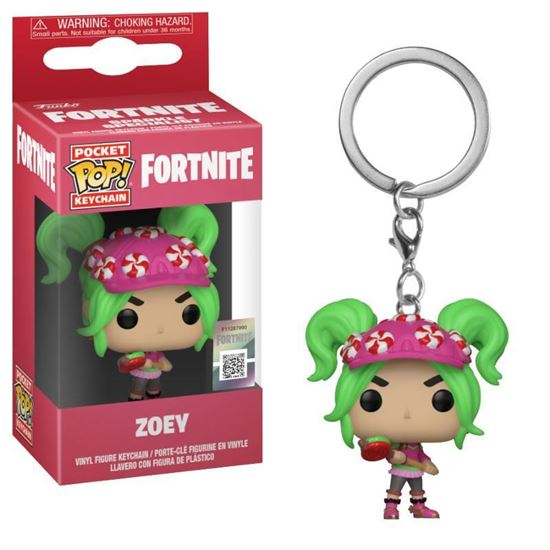 Picture of Fortnite Llavero Pocket POP! Vinyl Zoey 4 cm