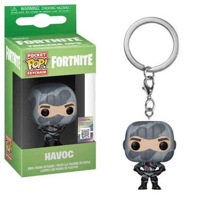 Picture of Fortnite Llavero Pocket POP! Vinyl Havoc 4 cm.