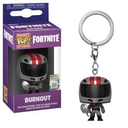Picture of Fortnite Llavero Pocket POP! Vinyl Burnout 4 cm.