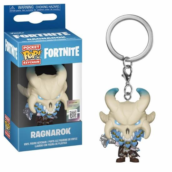 Picture of Fortnite Llavero Pocket POP! Vinyl Ragnarok 4 cm.