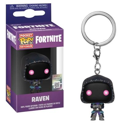 Picture of Fortnite Llavero Pocket POP! Vinyl Raven 4 cm.
