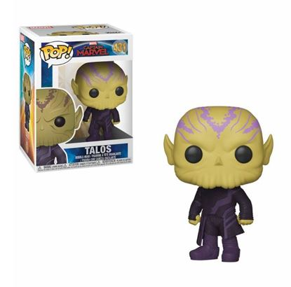 Picture of Captain Marvel POP! Marvel Vinyl Figura Talos 9 cm.