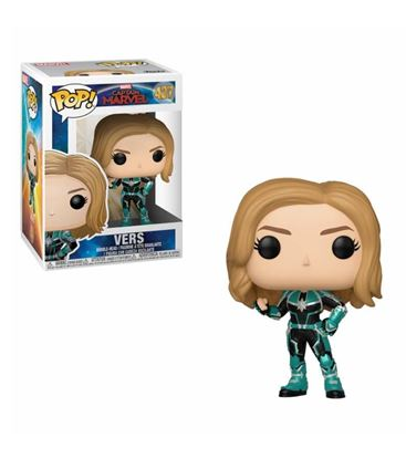 Picture of Captain Marvel POP! Marvel Vinyl Figura Vers 9 cm