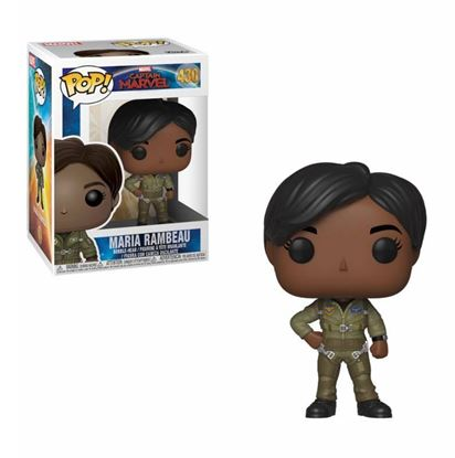 Picture of Captain Marvel POP! Marvel Vinyl Figura Maria Rambeau 9 cm.