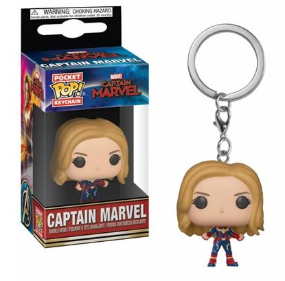 Picture of Captain Marvel Llavero Pocket POP! Vinyl Captain Marvel 4 cm.