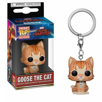 Picture of Captain Marvel Llavero Pocket POP! Vinyl Goose the Cat 4 cm