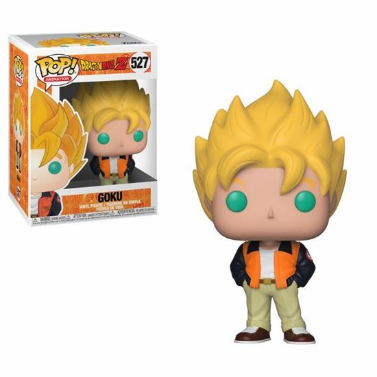 Picture of Dragonball Z Figura POP! Animation Vinyl Goku (Casual) 9 cm