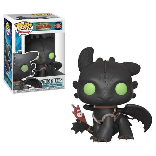 Picture of Cómo entrenar a tu dragón 3 POP! Vinyl Figura Toothless 9 cm.