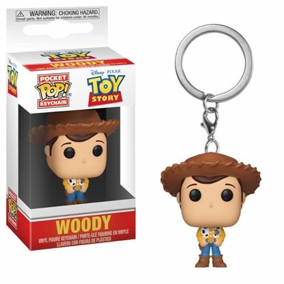Picture of Toy Story Llavero Pocket POP! Vinyl Woody 4 cm
