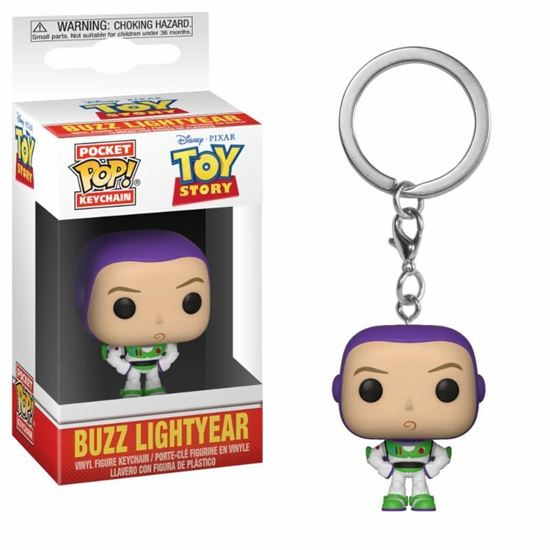 Picture of Toy Story Llavero Pocket POP! Vinyl Buzz 4 cm.