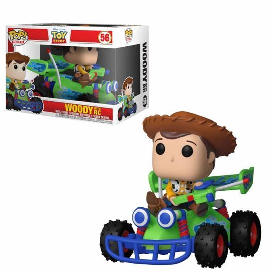 Picture of Toy Story POP! Rides Vinyl Figura Woody & RC 15 cm
