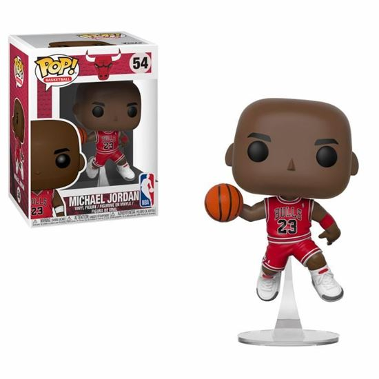 Picture of NBA POP! Sports Vinyl Figura Michael Jordan (Bulls) 9 cm.