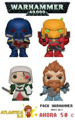 Picture of Pack 4 Figuras Pop! Warhammer 40K 9 cm