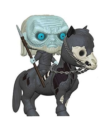 Picture of Juego de Tronos POP! Rides Vinyl Figura White Walker on Horse 15 cm.