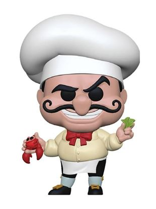 Picture of La Sirenita POP! Disney Vinyl Figura Chef Louis 9 cm