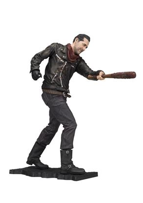 Picture of The Walking Dead TV Version Figura Deluxe Negan Merciless Edition 25 cm