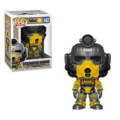 Picture of Fallout 76 Figura POP! Games Vinyl Excavator Power Armor 9 cm