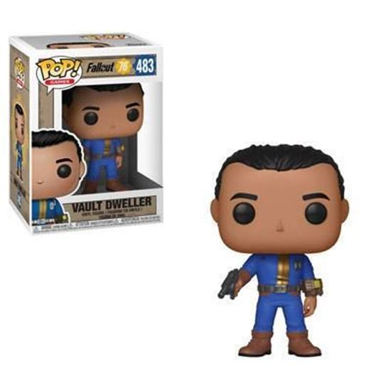 Picture of Fallout 76 Figura POP! Games Vinyl Vault Dweller (Male) 9 cm