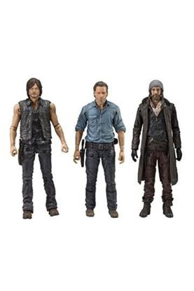Picture of The Walking Dead TV Version Pack de 3 Figuras Allies 13 cm