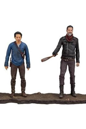 Picture of The Walking Dead TV Version Pack de 2 Figuras Negan & Glenn 13 cm