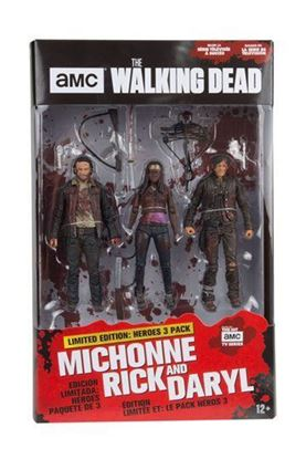 Picture of The Walking Dead TV Version Pack de 3 Figuras Heroes 13 cm