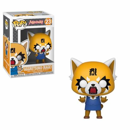 Picture of Aggretsuko POP! Sanrio Vinyl Figura Aggretsuko (Rage) 9 cm. DISPONIBLE APROX: MARZO 2019