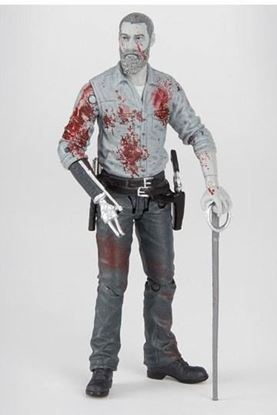 Picture of The Walking Dead Figura Rick (Bloody B&W) 15 cm