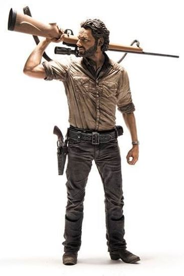 Picture of The Walking Dead Figura Deluxe Rick Grimes 25 cm