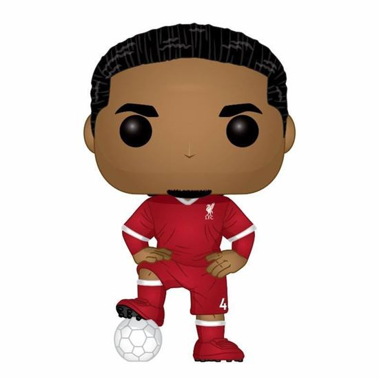 Picture of POP! Football Vinyl Figura Virgil van Dijk (Liverpool Football Club) 9 cm. DISPONIBLE APROX: JULIO 2019