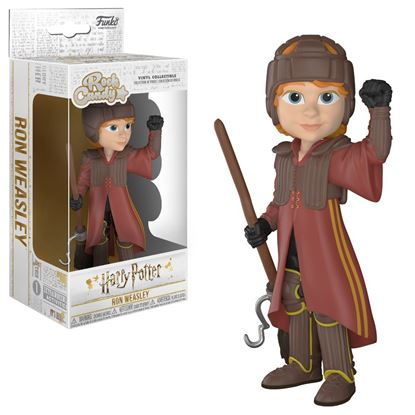 Picture of Harry Potter Rock Candy Vinyl Figura Ron in Quidditch Uniform 13 cm