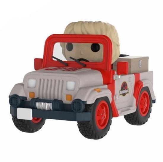 Picture of Jurassic Park POP! Rides Vinyl Figura Park Vehicle 15 cm