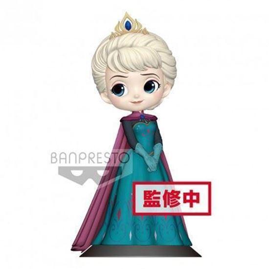 Picture of Figura Q Posket Elsa Coronación (Pastel Colour Version) 14 cm. DISPONIBLE APROX: ABRIL 2019