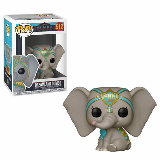 Foto de Dumbo POP! Vinyl Figura Dreamland Dumbo 9 cm